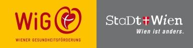 Hier sehen Sie das Logo von der Wiener Gesundheitsförderung.
